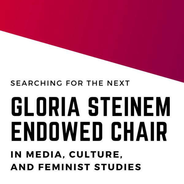 Advertisement Gloria Steinem Chair